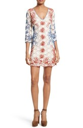 Tracy Reese Women's Embroidered Lace Minidress