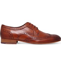 Ted Baker Gryene Leather Derby Brogues Tan