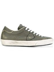 Philippe Model 'Bercy' Low Top Sneakers Green