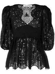 Vivetta Embroidered Lace Blouse 60