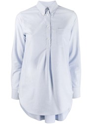 Thom Browne Pleated Back Button Down Shirt 60