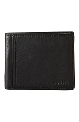 Fossil 'Ingram' Traveler Wallet Black