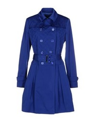 Guess By Marciano Full Length Jackets Blue