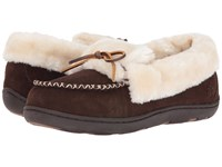 Tempur Pedic Laurin Chocolate Women's Slippers Brown