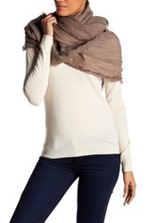 Italca Sharada Knit Scarf Brown