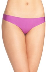 Free People Women's Cutting Edge Thong Purple