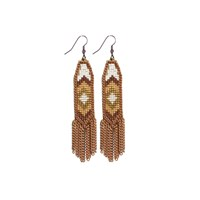 Fiona Paxton Dahlia Rose Gold Earring