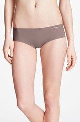 Women's Calvin Klein 'Invisibles' Hipster Briefs French Roast