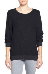 Wildfox Couture Women's 'Baggy Beach Jumper' Pullover Jet Black