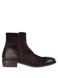 John Varvatos Keith Waxed Suede Boots