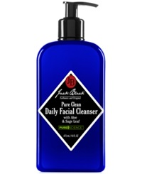 Jack Black Pure Clean Daily Facial Cleanser With Aloe And Sage Leaf 16 Oz