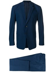 Prada Classic Two Piece Suit Blue
