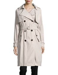 Bcbgeneration Double Breasted Trench Coat Stone