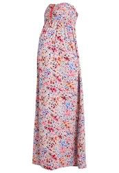 Envie De Fraise Bella Maxi Dress Grey Multicolored Multicoloured