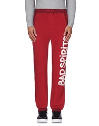 Happiness Trousers Casual Trousers Men Garnet