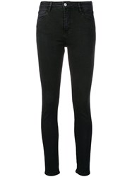 Brocken Bow High Waisted Skinny Jeans Black