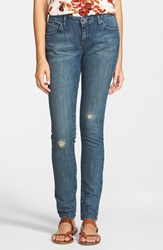 Volcom Super Skinny Jeans False Blue