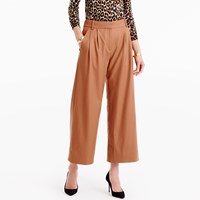 J.Crew Tall Cropped Pant In Wool Flannel