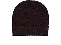 Barneys New York Men's Wool Cashmere Beanie Burgundy Red