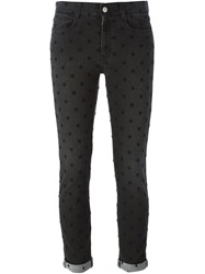Stella Mccartney Embroidered Jeans Black