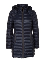 Comma Down Coat Blue Dark Blue
