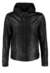 Gipsy Leather Jacket Anthrazit Anthracite