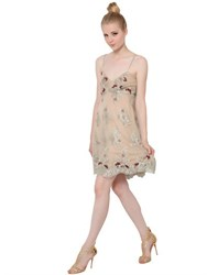 Fabiana Milazzo Embroidered Techno Lace Dress