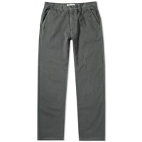 Tres Bien Garment Dyed Work Trousers Green