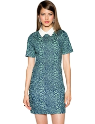 Pixie Market Fierce Denim Peter Pan Collar Dress