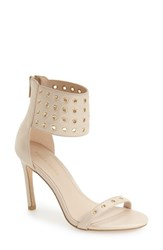 Pelle Moda Women's 'Ansley2' Cuff Sandal Cream Leather