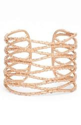 Kendra Scott Women's Nicolas Cuff White Cz Rose Gold