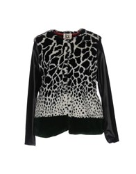 M Erfect Coats And Jackets Faux Furs Black