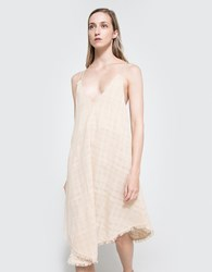 Farrow V Neck Flowy Maxi Dress Taupe