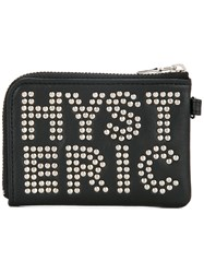 Hysteric Glamour Bag Accessory Calf Leather Black