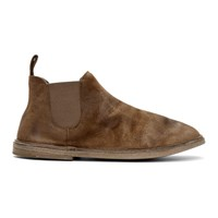 Marsell Brown Suede Beatles Boots