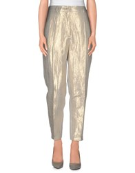 Nude Trousers Casual Trousers Women Light Grey