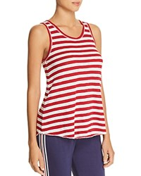 Pj Salvage Striped Tank Red