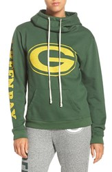 Junk Food Women's 'Green Bay Packers' Cotton Blend Hoodie
