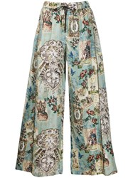 F.R.S For Restless Sleepers Silk Printed Trousers 60