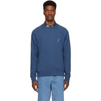 Paul Smith Ps By Blue Dino Sweatshirt