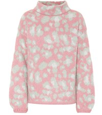 81 Hours Melissa Mohair Blend Sweater Pink