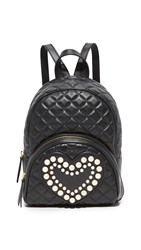 Boutique Moschino Quilted Backpack Black