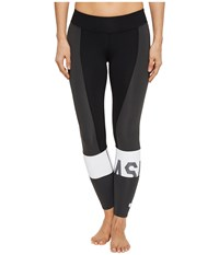 Asics Solution Dye Color Block 7 8 Tights Performance Black Workout