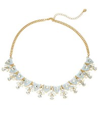 Cara Cluster Statement Necklace Mint