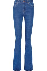 Mih Jeans M.I.H The Bodycon Marrakesh High Rise Flared Mid Denim