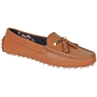 Ted Baker Harlii Tassel Loafers Tan Leather