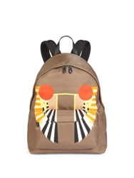 Givenchy Egyptian Wings Backpack Olive Green