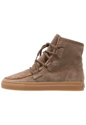 Kennel Schmenger Basket Laceup Boots Tundra Honig Brown