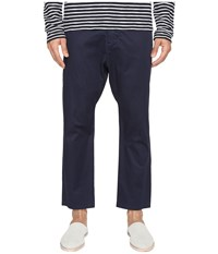 Vince Drop Rise Cropped Drawstring Pants Coastal Blue Men's Casual Pants