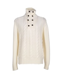 Monte Alfeo Turtlenecks Ivory